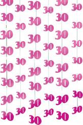 Hänge-Dekos mit dem Alter des Geburtstagskindes