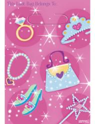 Geschenktüte Shopping-Prinzessinnen Mädchen 8 Stück bunt