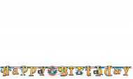 Happy-Birthday-Banner Piraten bunt