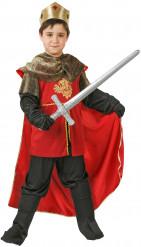 Mittelalterliches Königs-Kostüm für Jungen