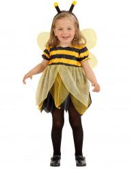 Originelles Bienen-Kostüm für Mädchen mit Tüllrock gelb-schwarz