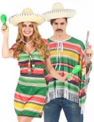 Mexikaner-Paarkostüm für Erwachsene