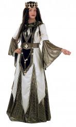 Mittelalterliches Königinnen-Kostüm für Damen