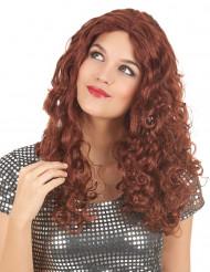 rote Langhaar-Perücke für Damen