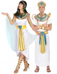 Königin von Ägypten und Pharaonen-Paarkostüm für Erwachsene