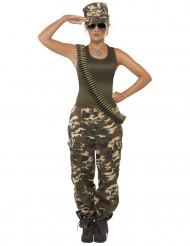 Armee-Kostüm für Damen