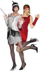 Charleston-Tänzerinnen-Kostüm für Paare
