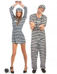 Gefangenenkostüm für Paare