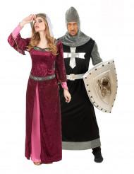 Königinnen- / Ritterkostüm für Paare