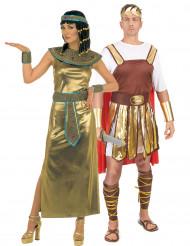 Kleopatra und römisches Kaiser-Kostüm für Erwachsene