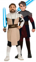 Anakin Skywalker und Obi wan Kenobi Star Wars™-Kostüm für Kinder