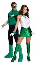 Green Lantern™-Paarkostüm für Erwachsene