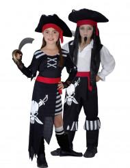 Piraten Kapitäns-Paarkostüm für Kinder