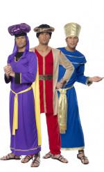 König Kaspar und Melchior-Paarkostüm für Herren