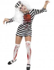 Zombie-Gefangene-Kostüm für Damen