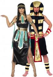 Pharaonen-Paarkostüm für Erwachsene