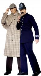Sherlock Holmes™ und Polizisten-Kostüm für Erwachsene