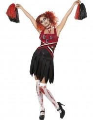 Zombie-Cheerleaderin-Kostüm für Damen