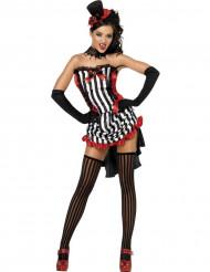Sexy Vampir-Kostüm für Damen