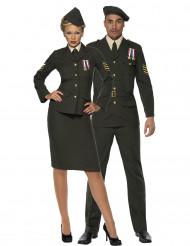 Offiziers-Paarkostüm für Erwachsene
