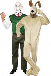 Wallace™ und Gromit™-Paarkostüm