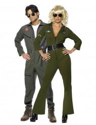 Top Gun™ Piloten-Paarkostüm für Erwachsene