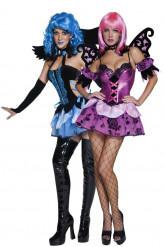 Nachtelfen / -engel Kostüm Halloween für Damen