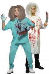 Verrückter-Arzt-Paarkostüm für Herren