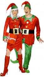 Weihnachtswichtel-Paar-Kostüm für Erwachsene