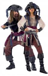 Piraten-Paarkostüm Deluxe für Erwachsene