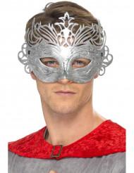 Venetianische Halbmaske, metallfarbig