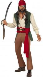 Piraten-Kostüm für Herren