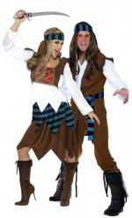 Piraten-Paarkostüm für Erwachsene