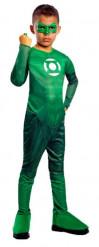 Green Lantern-Superheldenkostüm für Jungen grün