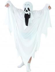 Gespenster-Kostüm für Kinder schwarz-weiss