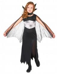 Halloween Spinnenkönigin-Kostüm für Mädchen