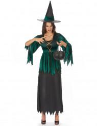 Gothic Hexen-Kostüm für Damen