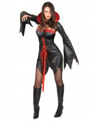 Sexy Halloween Vampir-Kostüm für Damen