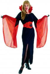 Halloween Vampir-Kostüm für Damen