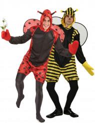 Bienen- / Marienkäfer-Kostüm für Paare