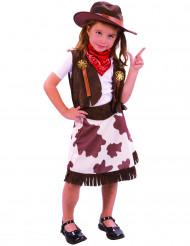 Cowboy-Kostüm für Mädchen