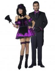 Zimmermädchen / Butler-Kostüm Halloween für Paare