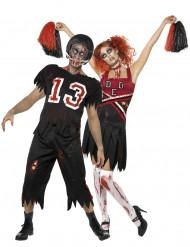 Fasching Zombie Kostüm Footballer/Cheerleader
