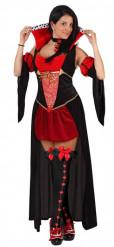 Herz-Königinnen-Kostüm für Damen