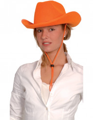 Fan - Cowboy-Hut orange