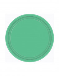 Teller - grün