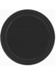 Teller - schwarz