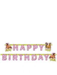 Happy Birthday Girlande Pferd