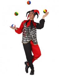 Hofnarren-Kostüm für Erwachsene