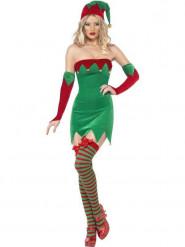 Sexy Wichtelkostüm Weihnachten für Damen